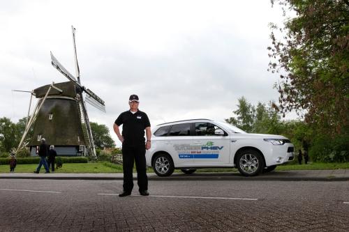 2014-05-13, Amsterdam (NL). Mitsubishi Motors. Felix Egolf.